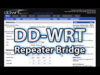DD-WRT Repeater Bridged Setup