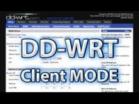 DD-WRT Client Mode Setup Video Tutorial