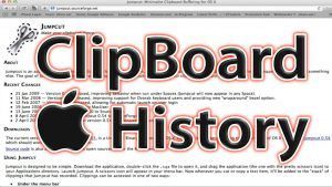 Mac Clipboard History Jumpcut Mac App
