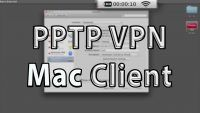 PPTP VPN Client MacOS Setup Video Tutorial
