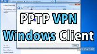 PPTP VPN Client Windows Setup Tutorial