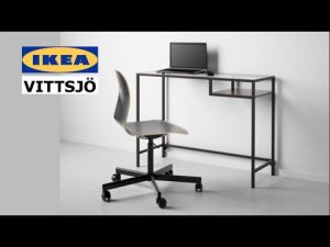 IKEA VITTSJO Laptop Table Assembly