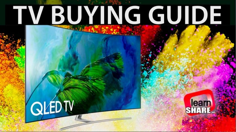 TV Buying Guide All you need before buying a TV