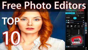 Top 10 Best Free Photo Editing Software