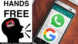 Send WhatsApp Messages on Google Assistant