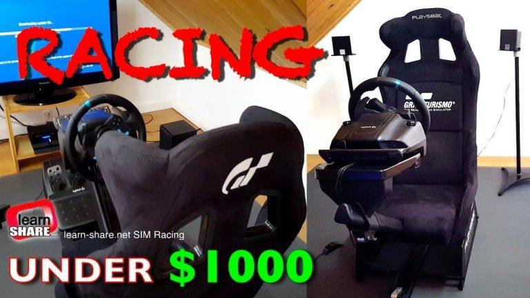 SIM Racing Simulator Rig Setup under $1500