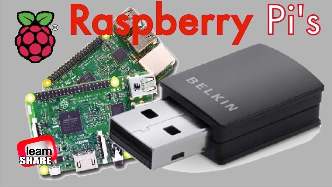 How to Install Setup Wifi on Raspberry Pi 2, 1 – Belkin N300 Micro Wireless  USB Adapter. To connect the Belkin N300 micro wireless USB adapter on  raspberry ...