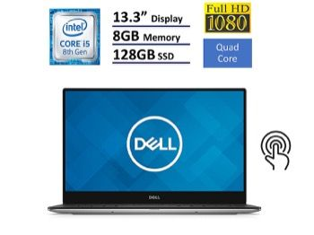Dell XPS 13 9360 10 Best Laptops 2019