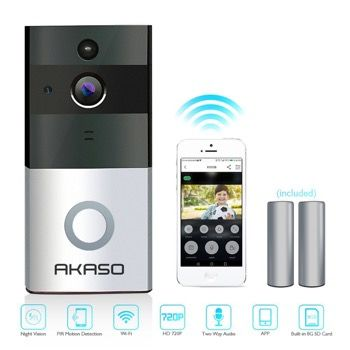 Akaso doorbell Best Video DoorBells 2019