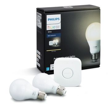 Philips Hue A19 Starter Kit Best Smart Light Bulbs