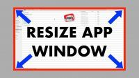 How to Auto Resize Application Window on Mac