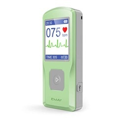EMAY Handheld EKG Monitor Best Healthcare Gadgets on Amazon