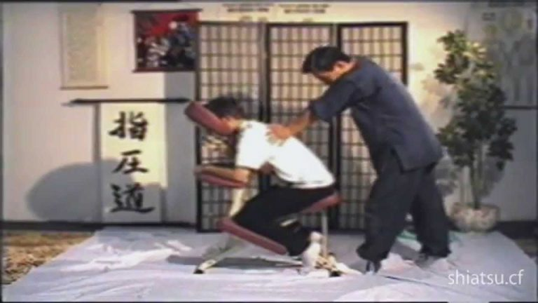 Shiatsu Massage on Chair