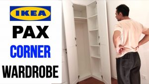 IKEA PAX Corner Wardrobe Assembly