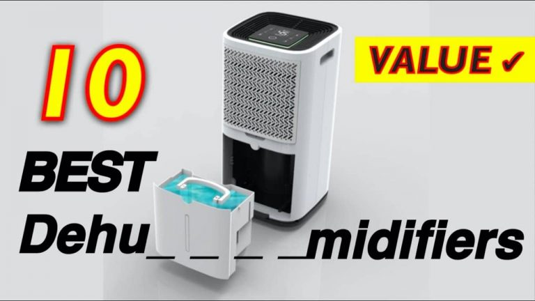 Best Dehumidifiers for Home & Industrial Use