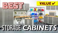 10 Best Storage Cabinets (Office, Garage..)