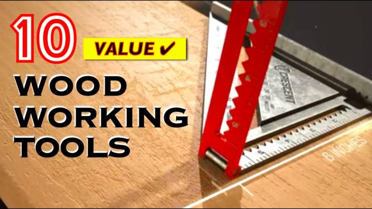 10 Best Useful Woodworking Tools