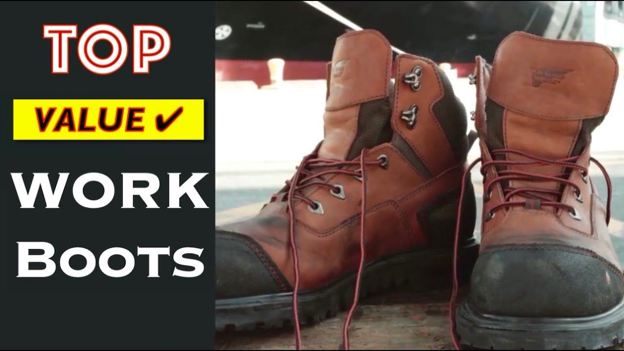 10 TOP Rated Work Boots for Construction (Men and Woman)