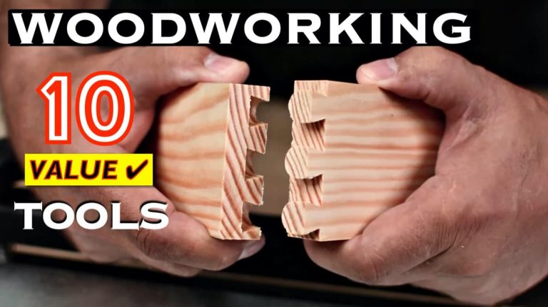 10 Top Value Woodworking Tools