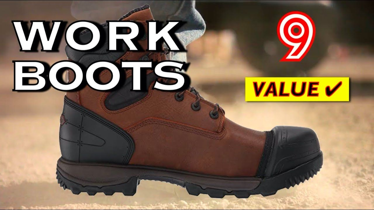 Best Working Comfort Boots