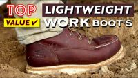 10 Best Lightweight Work Boots - Top Value