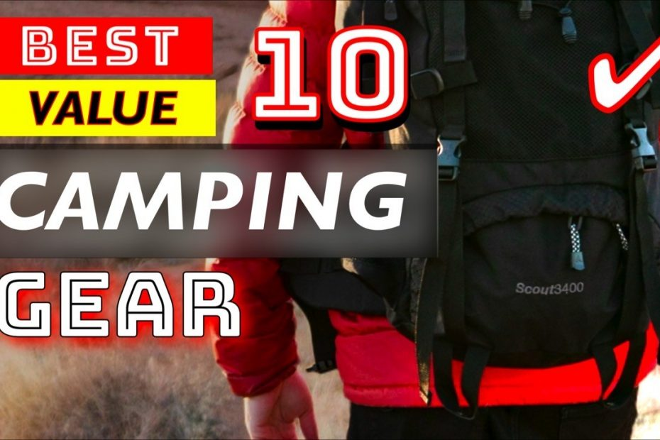 10 Best Value Outdoor Camping Gear and Gadgets