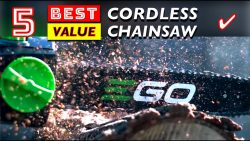 Best Cordless Chainsaws for Homeowners