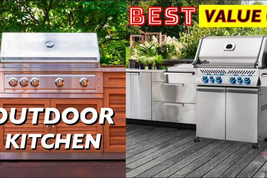 5 Best Value Outdoor Kitchen Cabinets and Grills