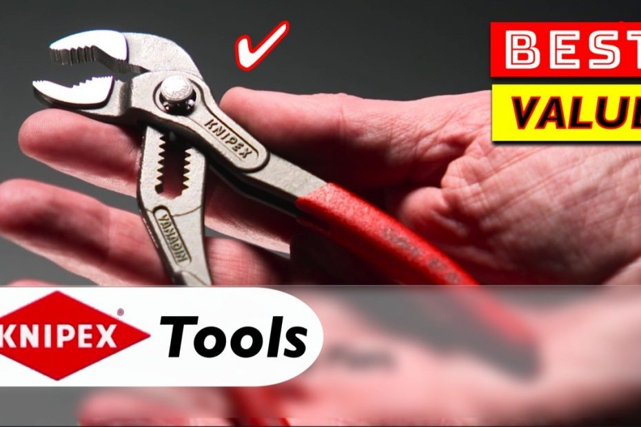 5 Best Value Tools by KNIPEX
