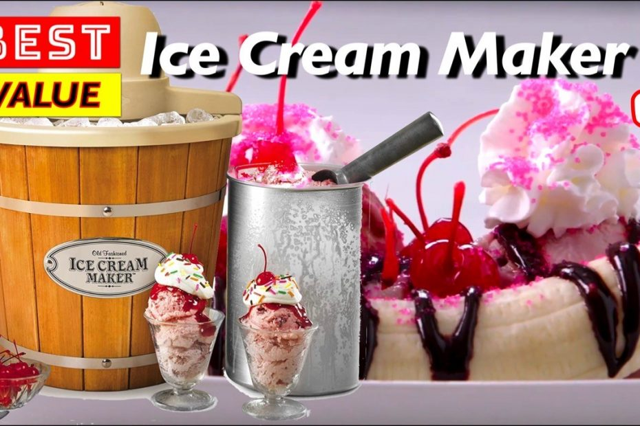 Best Value and Budget Ice Cream Gelato Makers